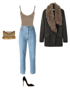 """""""Untitled #5492"""" by dreamer-in-paris ❤ liked on Polyvore featuring WearAll, Moschino, Christian Louboutin, Chanel and Vanessa Bruno"""