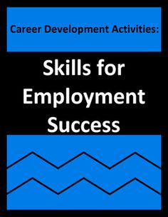 Career preparation activities educate students about job skills (ethical, interpersonal, technical, organizational, behavioral) needed for workplace employment. For career readiness, CTE, vocational, co-op, work skills, and business students, the activities contain real-life employment situations and skills.
