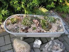 Výsledek obrázku pro zinkwanne bepflanzen