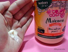 Uma nutrição power! Maionese Capilar da Salon Line - MariCômio