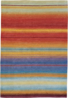 Sunset by Matthew Williamson | Tibetan Wool Rug