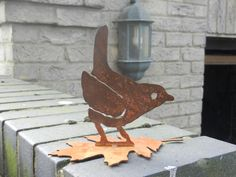 Buy from Etsy of www.rustyrooster.co.uk Metal Garden Art, Metal Art, Gifts For Mum, Great Gifts, Three Birds, Metal Birds, Rusty Metal, Garden Features, Garden Gifts