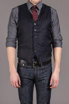 Sovereign Code Shirt, Tie, Vest 3 Piece Set