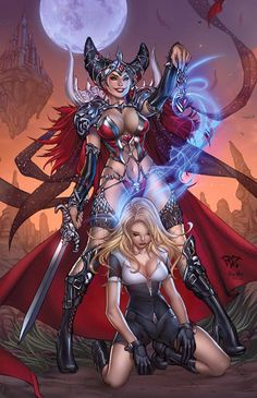 Grimm fairy tales white queen cover by pant.deviantart.com on @DeviantArt