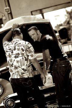 guys rockabilly | Rockabilly Cats, Dudes, Guys, Greasers, Teddy Boys Of Senigallia ...