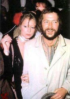 Pattie Boyd Eric Clapton