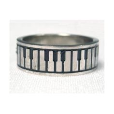 stainless steel piano music ring. If anyone got me this I would probably die!!
