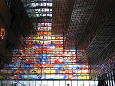 kleur in de architectuur, beeld en geluid in hilversum