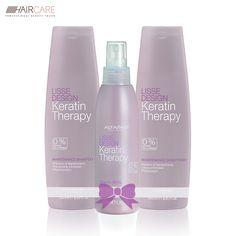 În luna august, ai cel mai bun preț de pe piață pe haircare.ro la pachetul de produse profesionale Alfaparf Lisse Design - ajută la menținerea și prelungirea rezultatelor tratamentului din salon.  Pachetul conține: șampon de întreținere, balsam de întreținere și lapte pentru păr cu keratină.  Preț pachet cu reducere: 113.9 lei Keratin, Hair Care, Shampoo, Conditioner, Therapy, Personal Care, Bottle, Beauty, Design