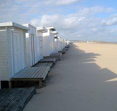 Les petits Chalets sur la plage de Calais