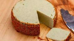 I recommend aging your cheese a couple weeks before you want to serve it. Age it that whole time. For the first 2 days, leave it on top of your fridge, then for the rest of the 2 weeks keep it seal…