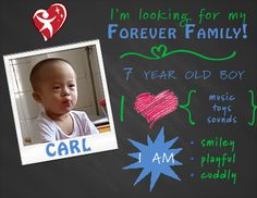 Do you have room for Carl in your family? #DownSyndromeAwarenessMonth