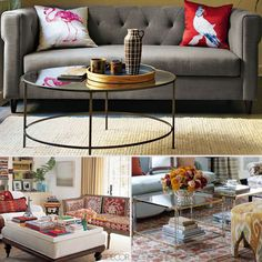 5 Fresh Styling Tips For a Chic Coffee Table: Like a shelf or a bookcase, a coffee table is one of the main display areas of your living room, where a curated collection of objects can quickly and easily set the tone for your space. If your coffee table isn't quite reflecting the style you're going for, consider one of these original, creative design ideas. Whether you like things simple and traditional or more modern and eclectic, you can follow these five fresh tips for a uniquely chic…