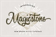 @newkoko2020 Magicstone Typeface by QueenType on @creativemarket#font #buy #discount #design #lettering