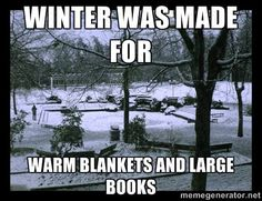 Snuggle up this winter with a good book!