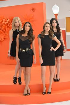 Ashley Benson, Shay Mitchell, Troian Bellisario, & Lucy Hale