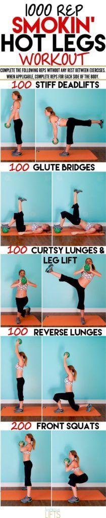 1000 Rep Smoking Hot Leg Workout