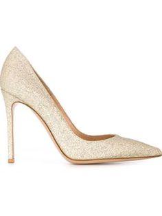 glitter pumps $719 #Farfetch #love #DesigerClothing