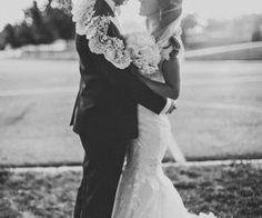 #love #together #bride #groom #wedding #blackandwhite