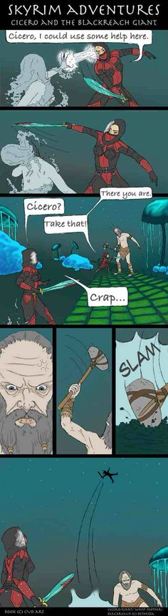 Poor poor Cicero happens to him all the time :(
