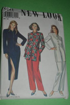 New Look 6141 Womens Top Pants Skirt and Jacket  Sewing Pattern - UNCUT - Sizes 8 - 18