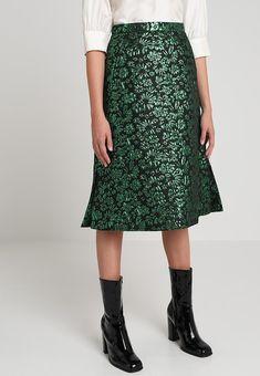 SALAL Spódnica trapezowa green @ Zalando.pl