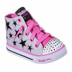 70d97e6baf90 Skechers Twinkle Toes Shuffles Rock Girls Sneakers - Toddler ...