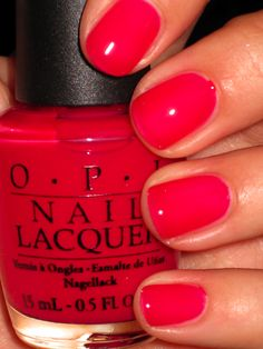 """OPI Too Pink to HoldEm"". LOVE this."