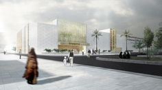 Image 9 of 29 from gallery of Winners of the World Architecture Festival Future projects health winner: New Sulaibikhat Medical Center, Kuwait by AGI Architects World Architecture Festival, Amazing Architecture, Net Architecture, Agi Architects, Health And Wellness Quotes, Health Lessons, Health Challenge, Video Games For Kids