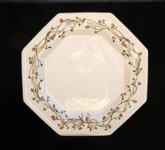 Johnson Brothers Octagonal Eternal Beau Dinner Plate 10 inches Excellent & Jewels Bay Seashell Glass Dinner Plate | Pier 1 Imports | For the ...