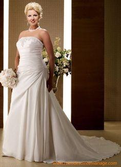 Robe de mariée grande taille  Wedding Dress  Pinterest  Robes ...