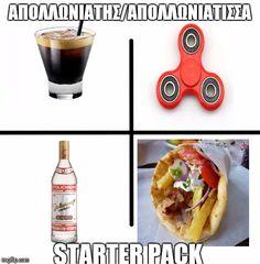 x starter pack