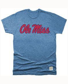 Retro Brand Men s Ole Miss Rebels Retro Mock Twist Script T-Shirt Ole Miss  Rebels d250275f5
