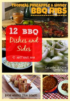 12 BBQ Dishes and Sides - Great ideas for Memorial Day - Must Have Mom