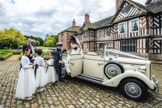 Adlington Hall is a beautiful country house, nestled in the breathtaking Cheshire countryside. Full of character and steeped in history, it's a truly beauti . Garden Marquee, Wedding Venues, Wedding Cars, Wedding Pictures, Garden Wedding, Big Day, Countryside, Real Weddings, Antique Cars