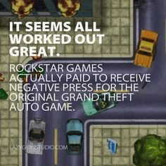 Grand Theft Auto 1: It seems all worked out great.
