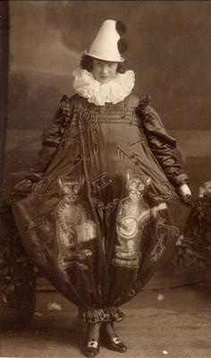 Vintage Circus Clothing | Vintage circus performers