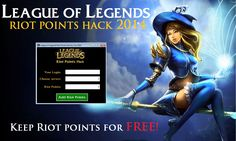 Download the New League of Legends Riot Things generator. Are you currently already a League of Legends person and desire to excel at all your opponents and crush your rivals? now with this Group of Legends Riot Things... http://playonline.website/league-legends-riot-points-generator/ #Games #Hack