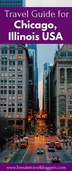 Are you planning a trip to the beautiful city of Chicago? Check out this first timer's guide to Chicago including where to eat in Chicago, places to stay in Chicago, what to see in Chicago, things to do in Chicago, transportation in Chicago and much more. Save this Chicago travel guide to your travel board so you can find it later. #chicago #illinois #usatravel