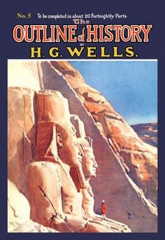 The Outline of History by HG Wells No. 5: Exploration 12x18 Giclee on canvas