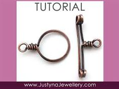 wire toggle clasp tutorial - Recherche Google