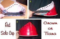 'Red Solo Cup' projects - Click image to find more DIY & Crafts Pinterest pins