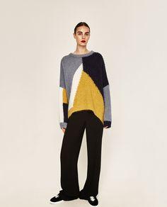 COLOR BLOCK SWEATER-Sweaters-KNITWEAR-WOMAN-SALE | ZARA United States