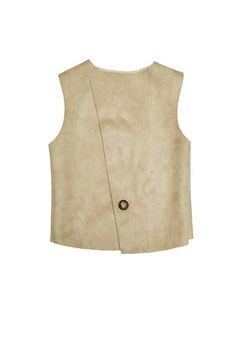 Tween clothing, teen clothing, tween fashion online and ethically produced in Australia. Tween and teen faux sheepskin winter vest.