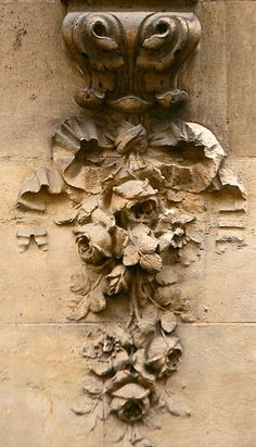 ARCHITECTURAL DETAILS IN PARIS
