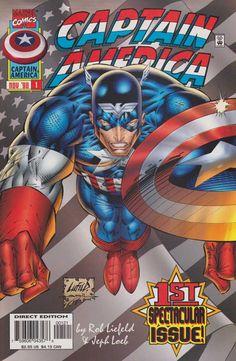 Captain America #1 - Courage