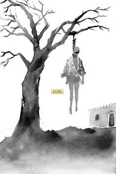 Lazarus, The Immortal Man: A Comic For Depressives, By Depressives