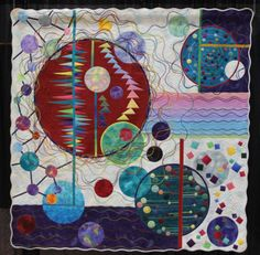 "Quilt: ""Evolution"" by Keiko Ike of Japan."