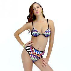 #fashion #moda #accessories Women High-waiste... is now in stock. http://modatendone.co.uk/products/women-high-waisted-triangle-padded-push-up-bra-printed-bikini-brazilian-swimsuit-bathing?utm_campaign=social_autopilot&utm_source=pin&utm_medium=pin