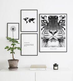 Fotowand inspiratie | Inrichten met posters - Posterstore.nl